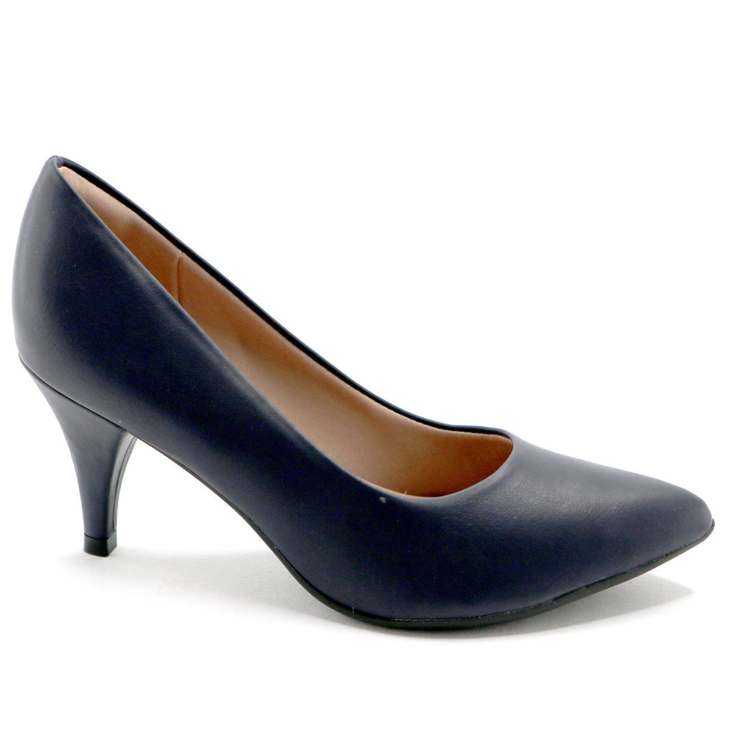 Blue Napa Pump (745.035) - SIMPLY SHOES HONG KONG