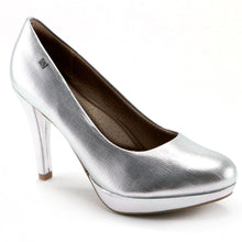 Silver  Pumps (841.022) - SIMPLY SHOES HONG KONG