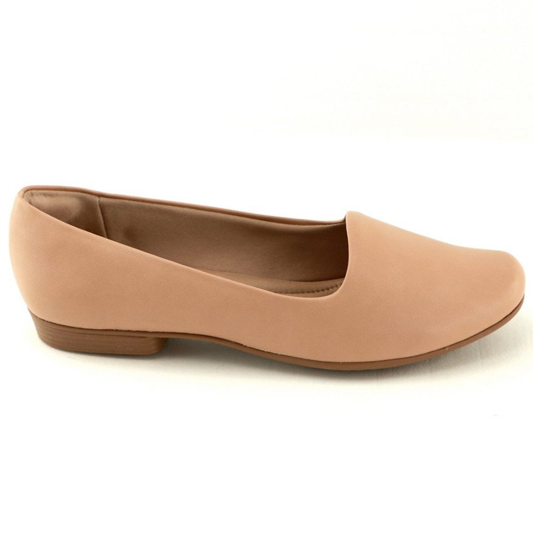 Nude Flat Ladies Shoes (250.132)