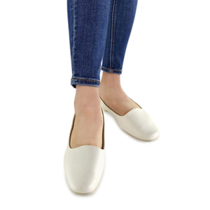 White Flats for Women (250.132) - 2