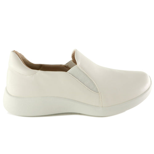 White Sneakers for Women (216.008) - SIMPLY SHOES HONG KONG