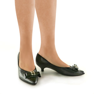 Black Pumps for Women (275.007) - SIMPLY SHOES HONG KONG
