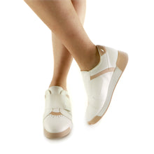 White/Tan Sneakers for Women (988.003)