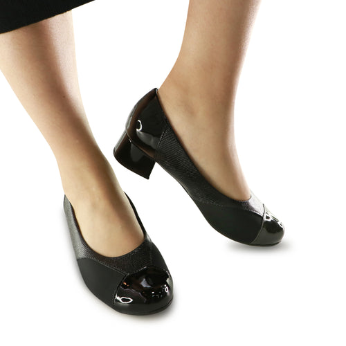 Black Pumps for Women (141.086) - SIMPLY SHOES HONG KONG