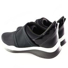 Black Plain ENERGY Sneakers for Women (983.001) - SIMPLY SHOES HONG KONG
