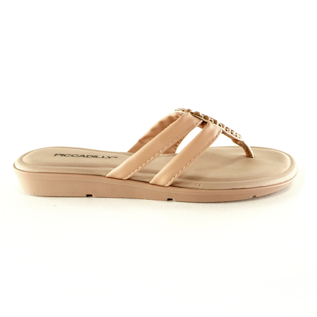 Nude Sandals for Women (401.205) - SIMPLY SHOES HONG KONG