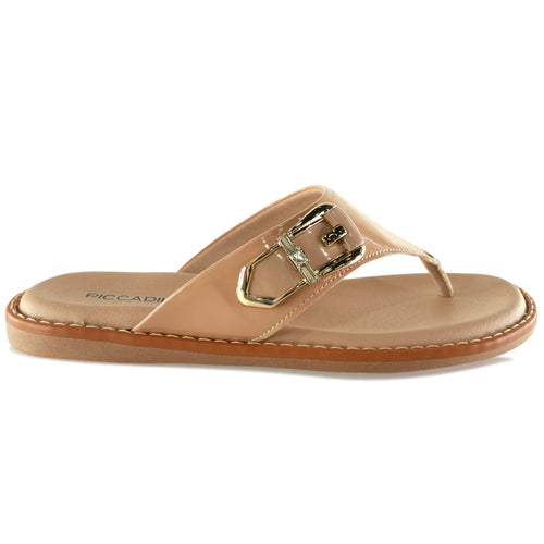 Nude Sandals for Women (505.040) - SIMPLY SHOES HONG KONG