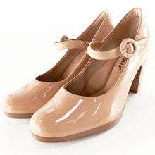 Nude Patent Heels for Women (130.197) - SIMPLY SHOES HONG KONG