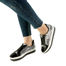 Black LEP Sneakers for Women (982.002) - SIMPLY SHOES HONG KONG