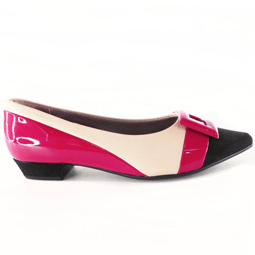 Pink flats for women (278.015) - SIMPLY SHOES HONG KONG