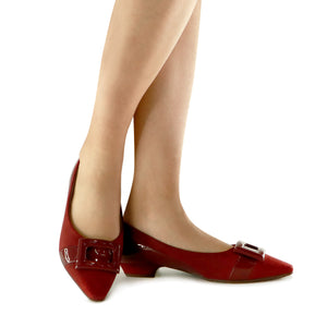 Red flats for Women (278.015)