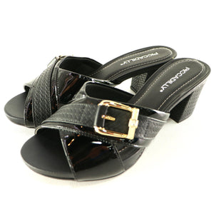 Black Sandals for Women (562.014) - SIMPLY SHOES HONG KONG