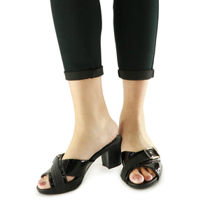 Black Sandals for Women (562.014)