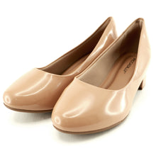 Nude Patent Pumps for Women (140.110)