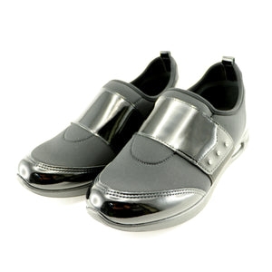 Black Sneakers for Women (979.015) - SIMPLY SHOES HONG KONG
