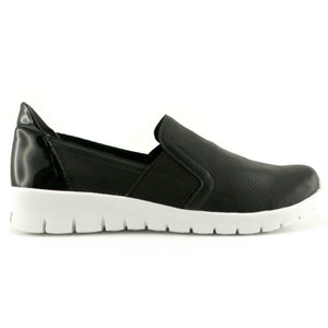 Black Casual Sneakers for Women (970.023)