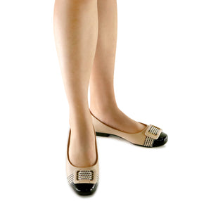 Nude Ballerina for Women (251.032) - SIMPLY SHOES HONG KONG