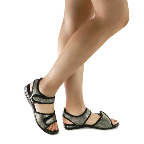 Black Sandals for Women (517.016) - SIMPLY SHOES HONG KONG