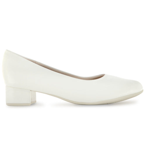 White Napa Pumps for Women (140.110) - SIMPLY SHOES HONG KONG