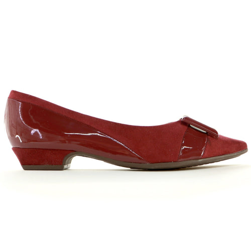 Red flats for Women (278.015) - SIMPLY SHOES HONG KONG