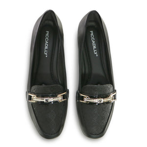 Black Flats for Women (251.051) - SIMPLY SHOES HONG KONG