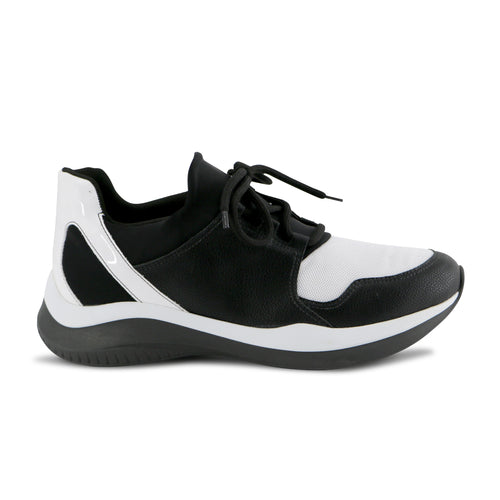 Black/White ENERGY Sneakers for Women (983.003) - Simply Shoes Hong Kong