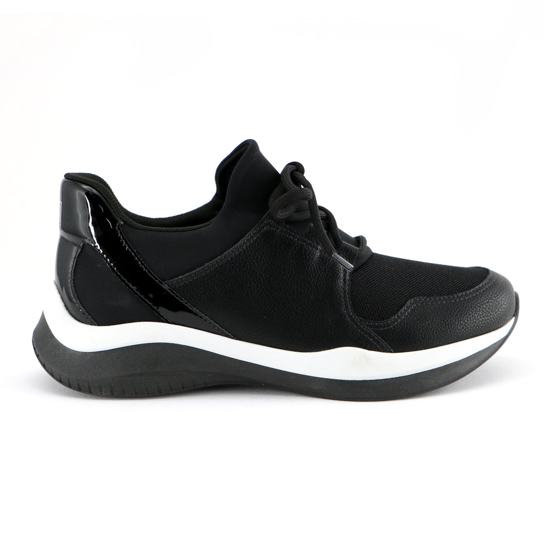 Black ENERGY sneakers for Women (983.003) - SIMPLY SHOES HONG KONG