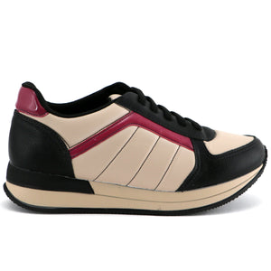 Fuchsia ENERGY Sneakers for Women (974.012) - Simply Shoes Hong Kong