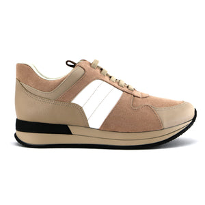 Nude ENERGY sneakers for Women (974.013) - SIMPLY SHOES HONG KONG