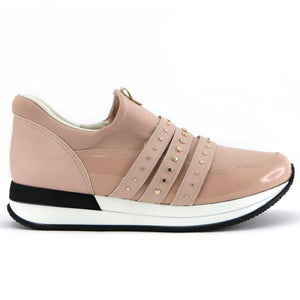 Nude ENERGY sneakers for Women (974.014) - SIMPLY SHOES HONG KONG