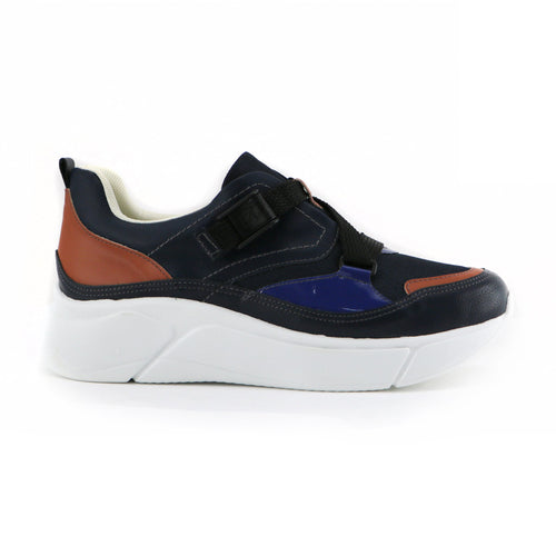 Blue Sneakers for Women (986.003) - Simply Shoes Hong Kong