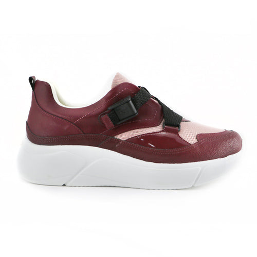 Burgundy Sneakers for Women (986.003)
