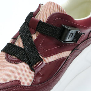 Burgundy Sneakers for Women (986.003) - SIMPLY SHOES HONG KONG