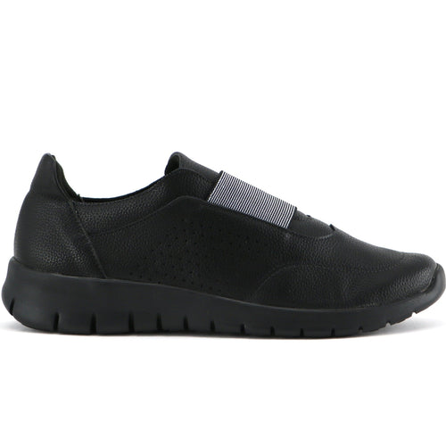 All Black Sneakers for Women (970.028) - Simply Shoes Hong Kong