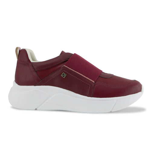 Red Sneakers for Women (986.001) - SIMPLY SHOES HONG KONG