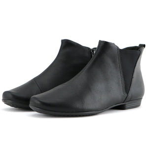 Black Ankle Boots for Women (251.052) - SIMPLY SHOES HONG KONG