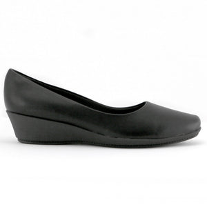 Black Napa Wedges for Women (143.133)