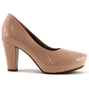 Rose Patent Pumps for Women (693.001) - SIMPLY SHOES HONG KONG