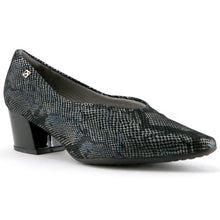 Black snake print heels for Women (744.072) - SIMPLY SHOES HONG KONG