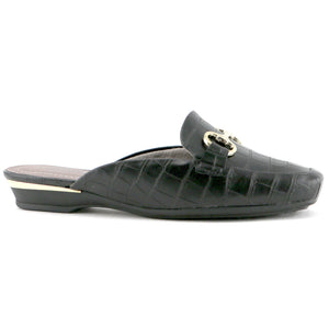 Black Napa Slip-ons for Women (147.133)