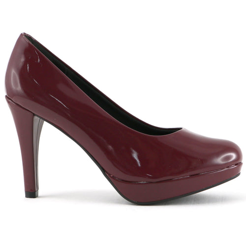 Burgundy Red Pumps for Women (841.029)