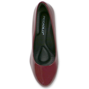 Burgundy Red Pumps for Women (841.029) - SIMPLY SHOES HONG KONG