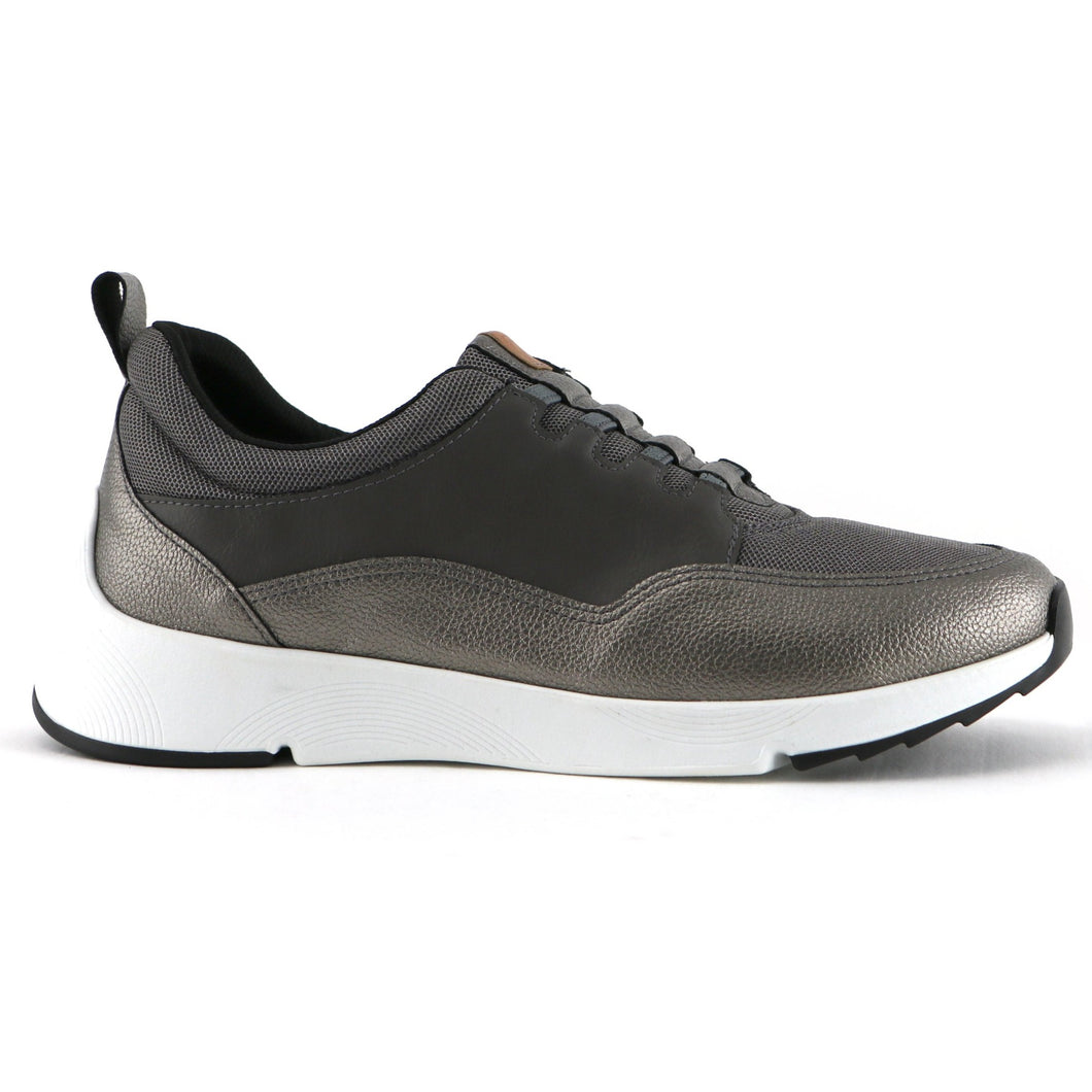 Pewter Sneakers for women (989.002) - SIMPLY SHOES HONG KONG