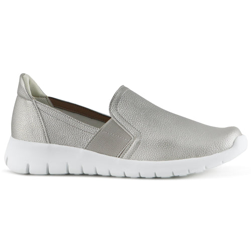 Silver lightweight Sneakers for Women  (970.023) - SIMPLY SHOES HONG KONG