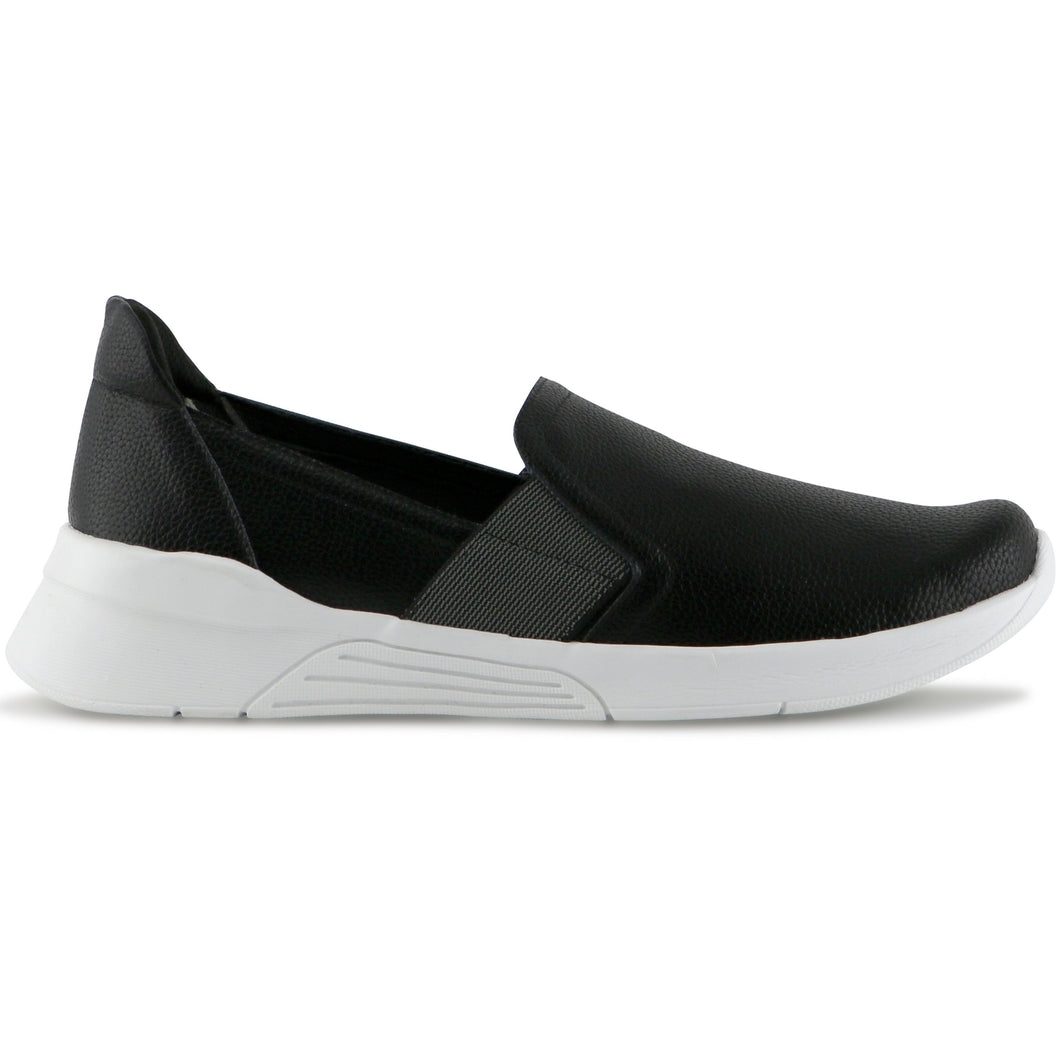 Black/White Sneakers for Women (970.033) - SIMPLY SHOES HONG KONG