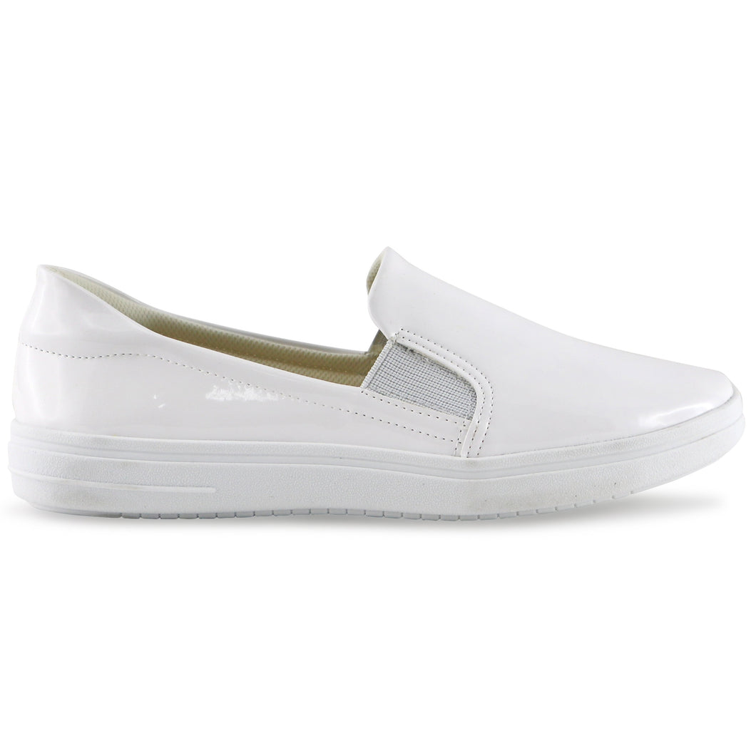 White sneakers for Women (961.026) - SIMPLY SHOES HONG KONG