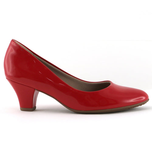 Red Patent Pumps for Women (703.001) - SIMPLY SHOES HONG KONG