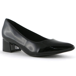 Black Patent Ladies Pumps (738.002) - SIMPLY SHOES HONG KONG