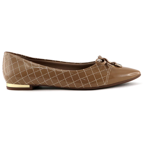 Beige flats for Women (274.042) - SIMPLY SHOES HONG KONG