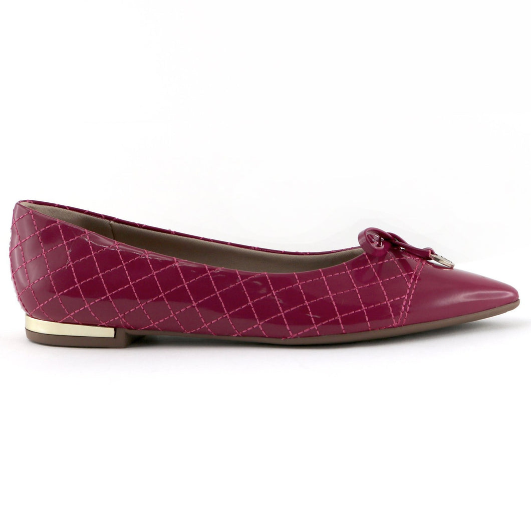 Fuschia flats for Women (274.042) - SIMPLY SHOES HONG KONG
